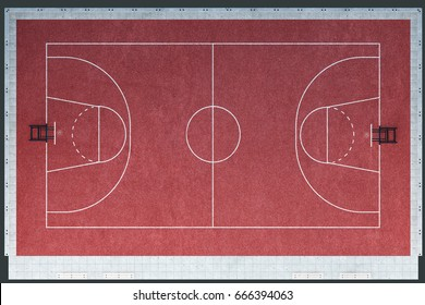 Aerial Basketball Court Images Stock Photos Vectors Shutterstock