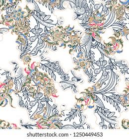 batik abtract solo