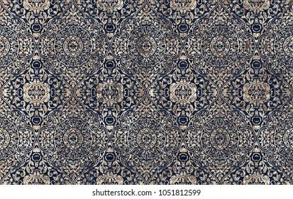 Batik tie dye texture repeat modern pattern