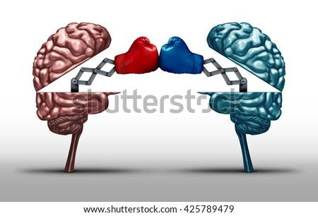 battle brains war wit concept twoのイラスト素材 425789479 shutterstock