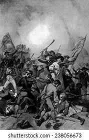 The Battle of Bunker Hill, June 17, 1775