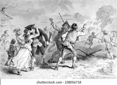 The Battle of Concord, April 19, 1775