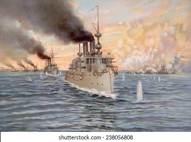 The Battle of Manila Bay, May 1, 1898