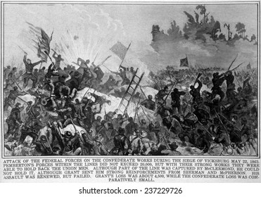 The Battle of Vicksburg, from The New York Times, May 22, 1863.