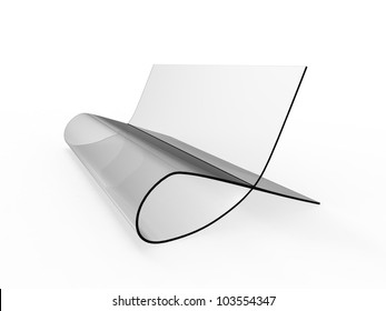 Bauhaus Style Chair on a white background