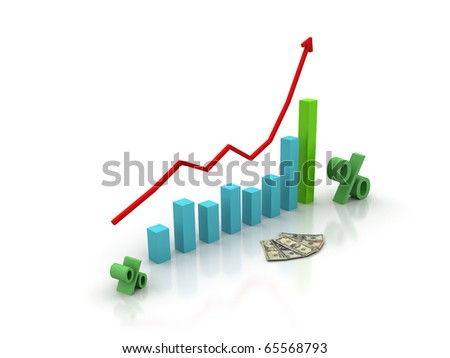 be ahead schedulethe interest rate stock illustration 65568793