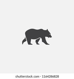 bear base icon. Simple sign illustration. bear symbol design from Russia series. Can be used for web, print and mobile