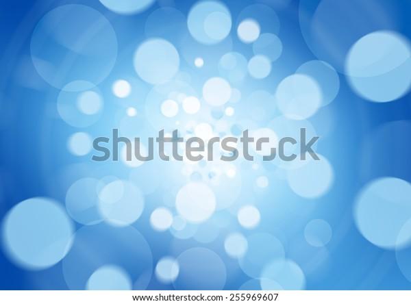 beatiful blue abstract light background defocused