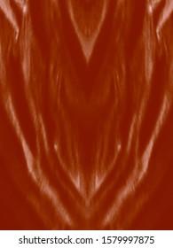 Beatiful Tiger Print. Pastel Drawing.  Zebra Wavy Lines. Coffee Tones Animal Skin Sketch. Brown, Pink Modern Art Image. Royal Bengal Tiger. Watercolor Striped Texture. Zebra Ornate.