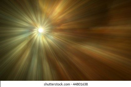 A beautiful abstract digital art background of light rays.