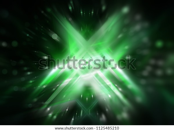 Beautiful abstract dynamic green background. Illustration for design.