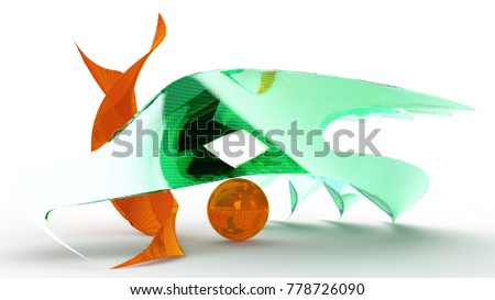 Royalty Free Stock Illustration of Beautiful Abstract Image Glass