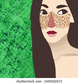 Green Eyes Asian Nude - Asian Beauty Naked Stock Illustrations, Images & Vectors ...