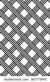 A beautiful background patterns with black and white diagonal lines crisscrossing throughout the image at a 45 degree angle.
