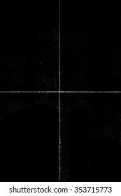 Beautiful Black grunge folded texture. Folded paper background with scratches and dust. Old folded paper texture for your design.
