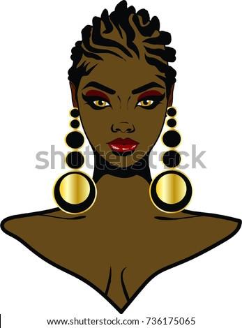 Kuvia kauniita Ebony naisia