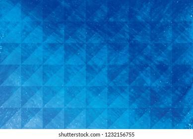 Beautiful blue crtstal