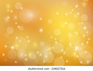 Beautiful and bright   golden  background