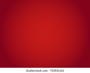 Beautiful briliant plain radial gradient abstract red background