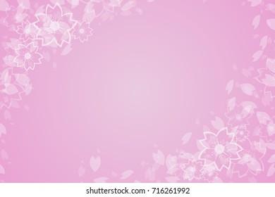 Beautiful japanese cherry flower background card cherry blossom beautiful cheery blossom pink sakura flower background mightylinksfo