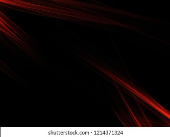 beautiful dark modern digital black background with orange smooth waves lines abstract futuristic urban wallpaper texture