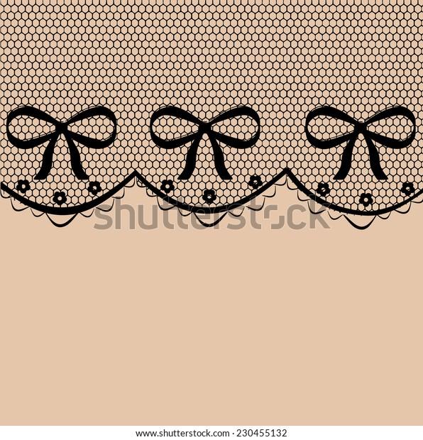 Beautiful delicate lace pattern