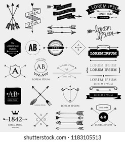 Beautiful design element, set of cool icons.