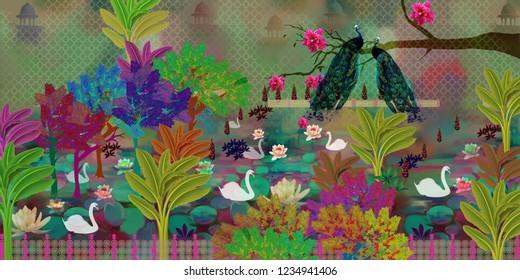 Photoshop Floral Images, Stock Photos & Vectors | Shutterstock