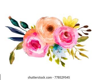 beautiful florel wreath