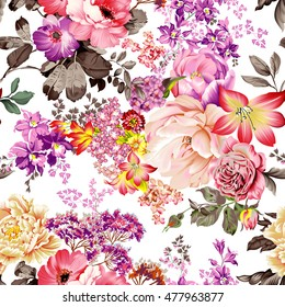 Beautiful Flowers with Background