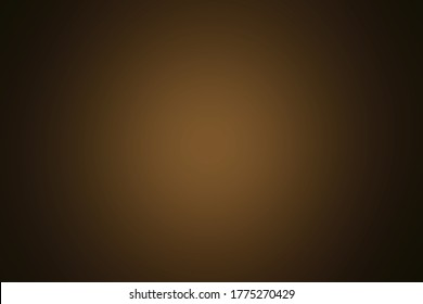 The beautiful gradient luxury mixed blurred black and yellow or golden spotlight on the center background for wallpaper