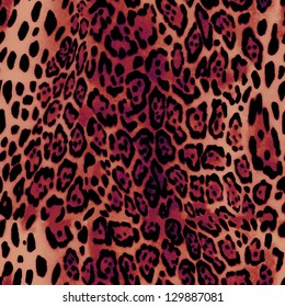 beautiful hot animal skin seamless background