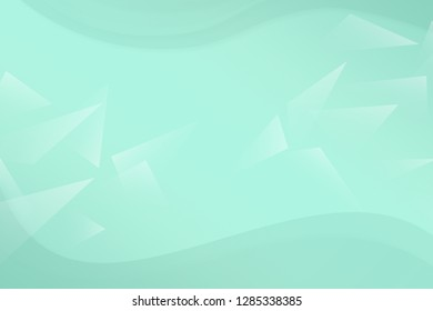 Beautiful mint abstract background. Minty neutral backdrop for presentation design. Green base for website, print, basis for banners, wallpapers, business cards, brochure, banner, calendar, graphiс