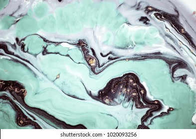 Beautiful Natural Luxury. Marbleized effect. Ancient oriental drawing technique.  Style incorporates the swirls of marble or the ripples of agate for a luxe effect. Very beautiful painting. Magic art