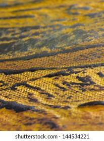 beautiful oil paint structure, nice bold visible texture detail, macro