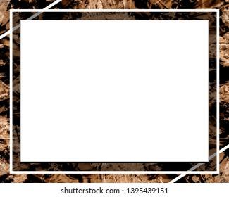 Beautiful picture frame, modern design