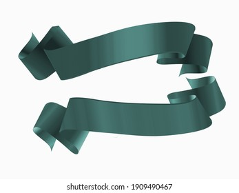 Beautiful ribbon with white  background picture