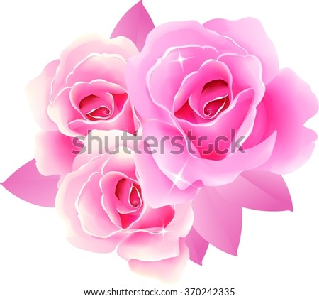 Royalty Free Stock Illustration Of Beautiful Roses Design Greeting