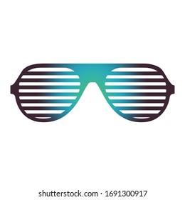 Beautiful Sunglasses isolated on white background