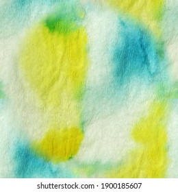Beautiful Tie Dye Seamless Pattern.  Bright Spotted Cotton Texture. Colorful Marbled Effect. Grunge Drywall Mud Art. Textile Acrylic Drawing. Motley Summer Cloth Texture.