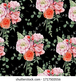 Black Roses Patterns Images Stock Photos Vectors Shutterstock