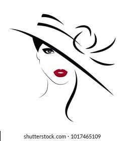 Beautiful Woman in hat.