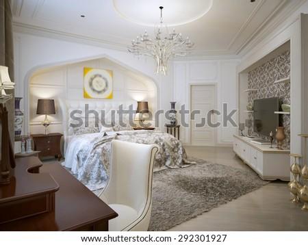 Bedroom Design Arabic Style Bright Colors Stock Illustration Simple Arabic Bedroom Design