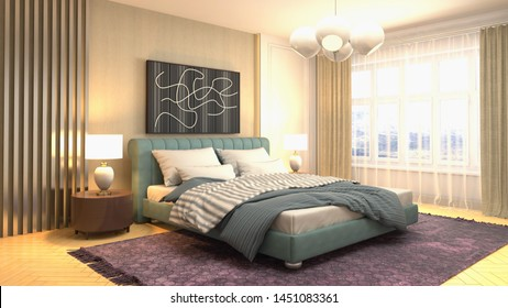 Luxury Bedroom Images, Stock Photos & Vectors | Shutterstock