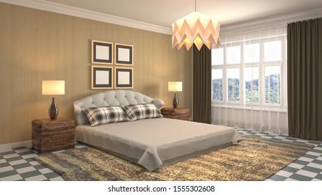 Royalty-Free Luxury Bedroom Stock Images, Photos & Vectors ...