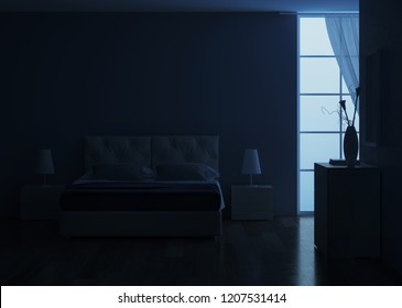 Bedroom Night Images Stock Photos Vectors Shutterstock