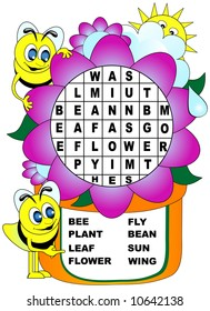 Bee Word Search.