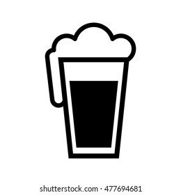 Beer Pint Glass graphic