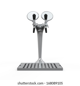 Beer Tap Isolated