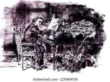 Beethoven deaf composer
